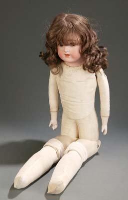 1413: Schoenau & Hoffmeister bisque porcelain doll