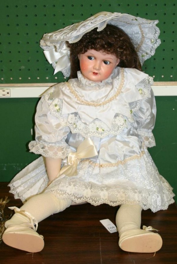 1401: 1401: French Bisque doll on Composition body