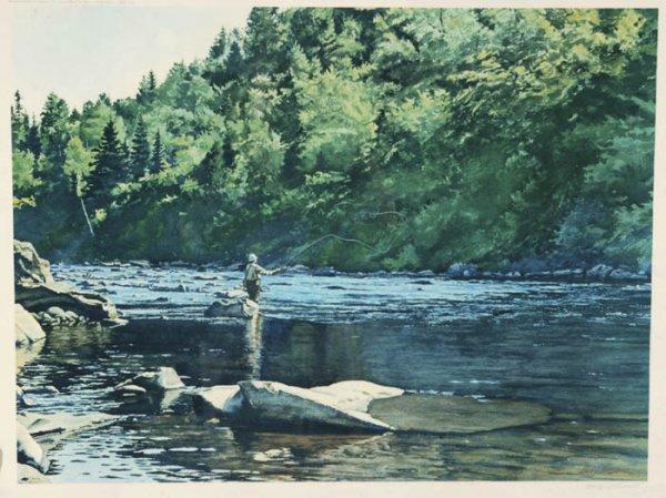 4: [Angling]. McDaniel, Henry. Fishing The Dry O