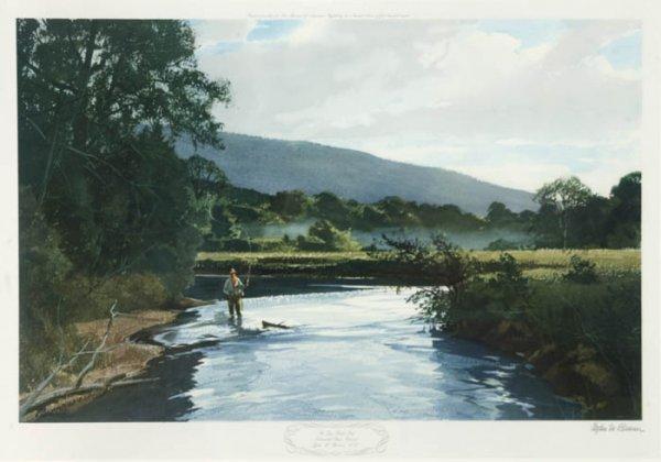 5: [Angling]. Pleissner, Ogden M. The Lye Brook