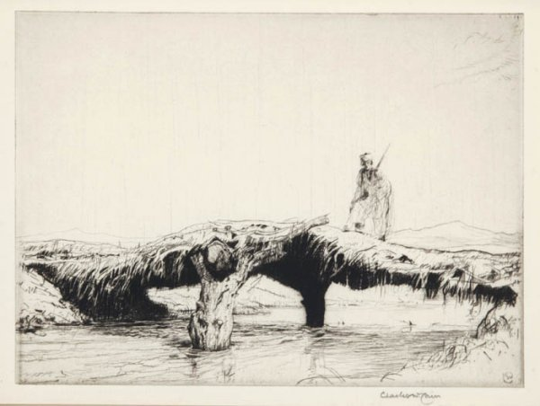 18: Cain, Charles W. (Eng., 1893-1962). 2 Drypoin