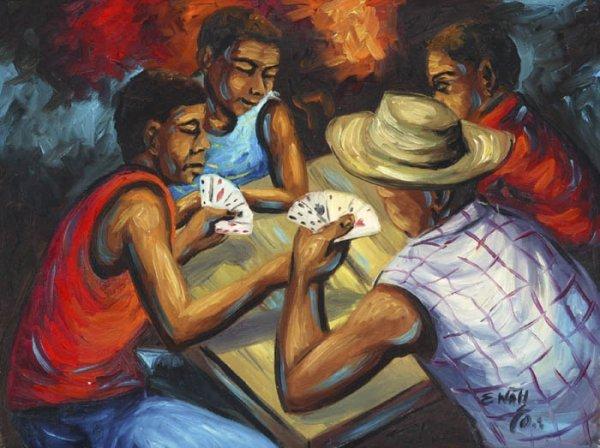 171: Wah, Edouard (Haitian, b.1938). Group of four