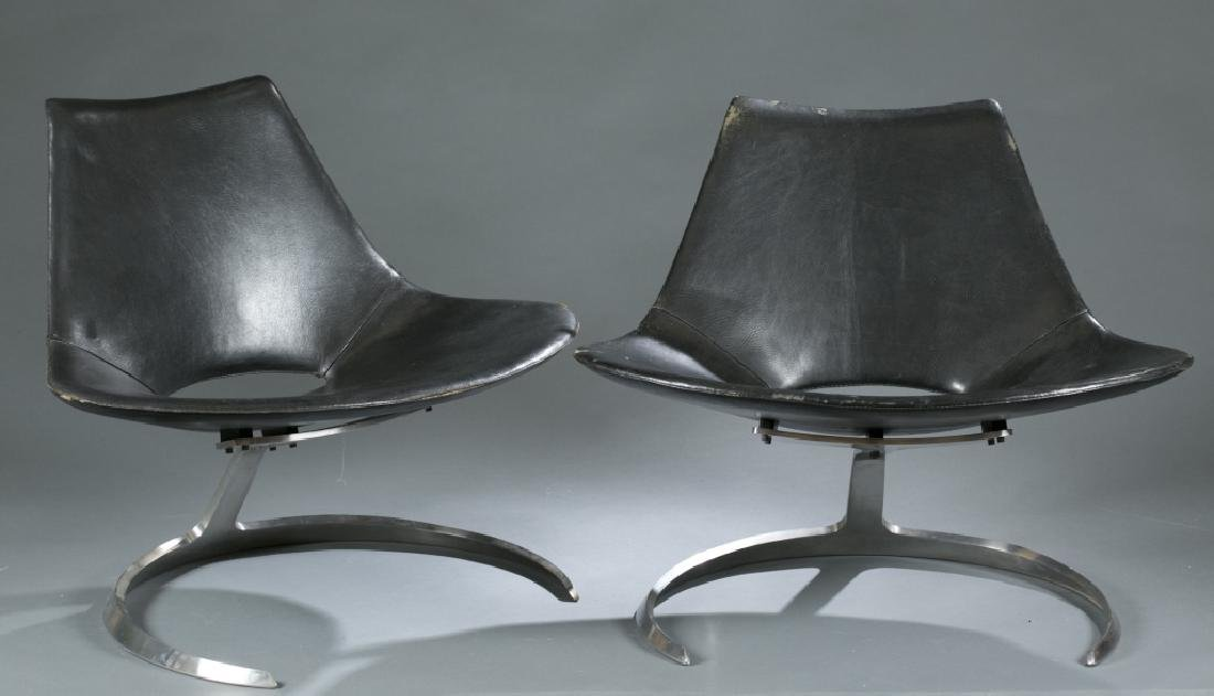 5 Fabricius and Kastholm Scimitar chairs.