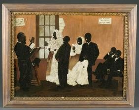 Emil Palmer, Black Wedding at Blackville, SC. O/C.