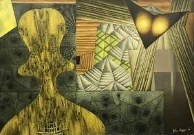 John Biggers. Ending web of the dawn... 1967.