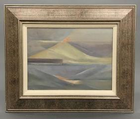 Merton Simpson, Landscape. 1962.