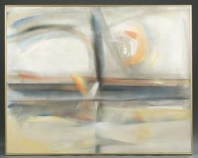 Merton Simpson, Summer Seascape. 1963.