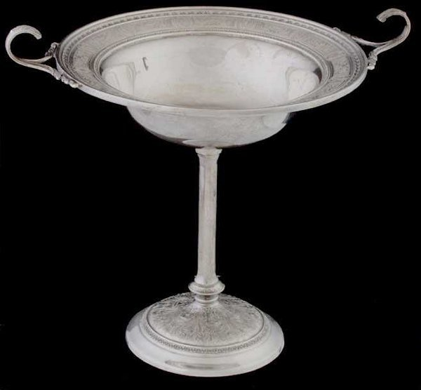 1010: International Silver Co Sterling Tazza