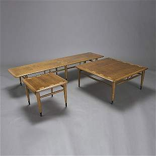 Three LANE Furniture Tables