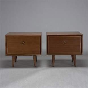 Pair of Danish Modern Cabinets