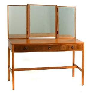 Blonde Mahogany Dressing Table