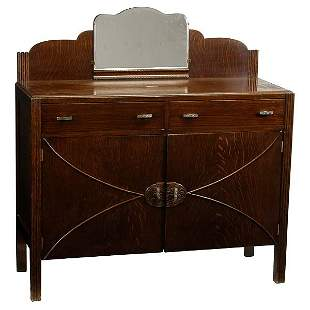 Art Deco Buffet with Mirror