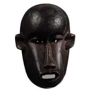 AFRICAN ART MAKONDE FACE MASK APE FINE OLD