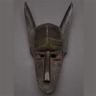 AFRICAN ART BAMBARA HYENA MASK MALI EXPRESSIONISTI