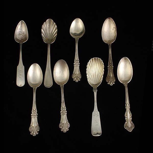 1002: Eight Silver Teaspoons