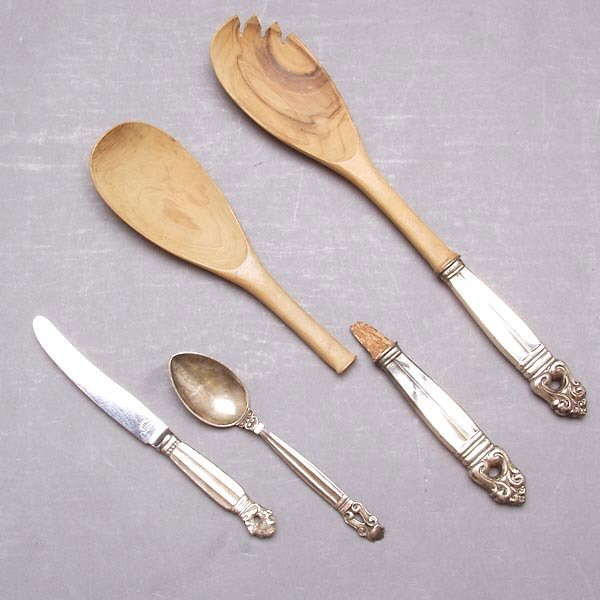 1014: Miscellaneous Sterling Flatware Grouping
