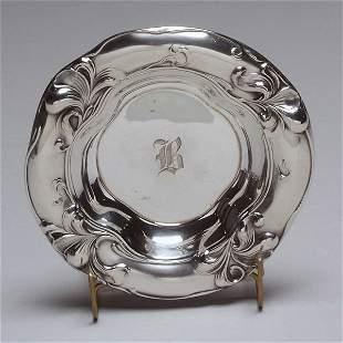 Art Nouveau Gorham Sterling Repousse Bowl