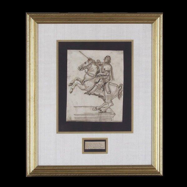 1400: Manner of Antonio del Pollaiuoca, Drawing