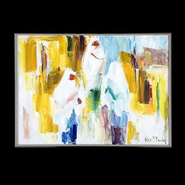 1486: HELEN DOOLEY AMERICAN ART MODERN OIL