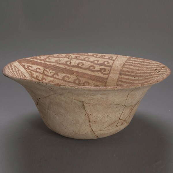 11: ANCIENT SOUTHWEST ART BOWL HOHOKAM PREHISTORIC