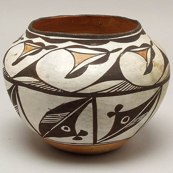 19: ACOMA PUEBLO INDIAN POTTERY BOWL
