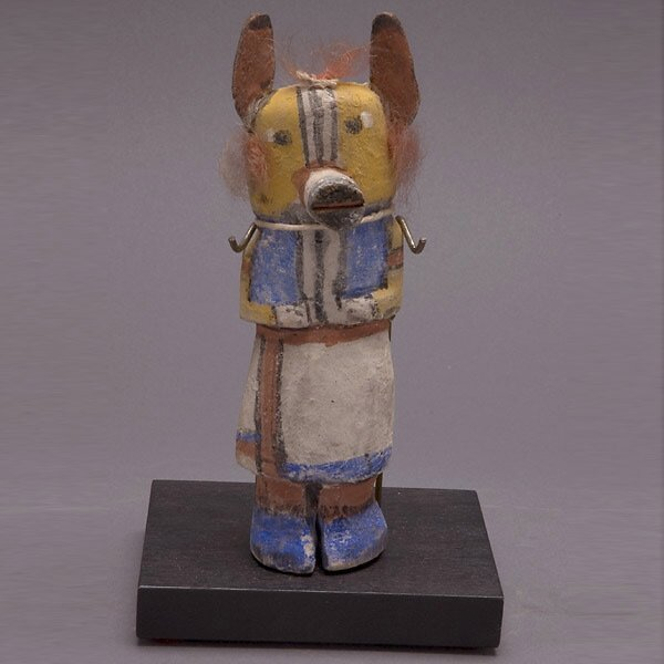 22: HOPI KACHINA DOLL OLD INDIAN ART FROM JESS ESTATE