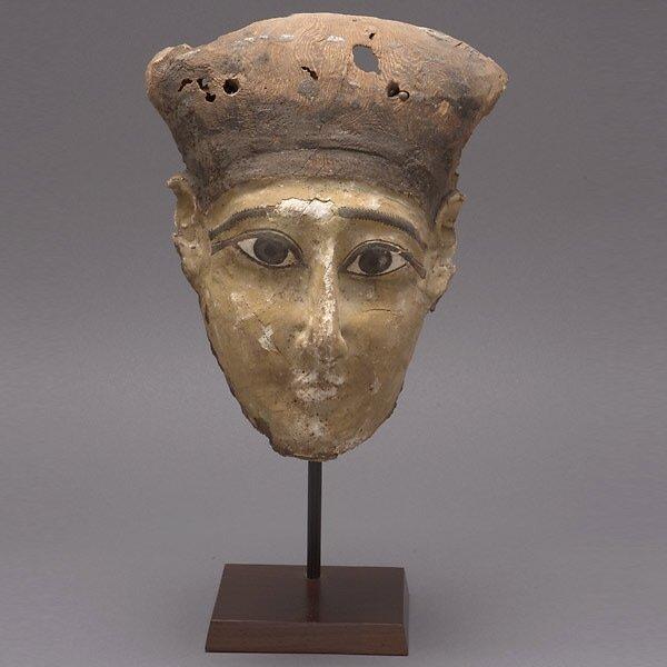 300: Egyptian Painted Wood Mask