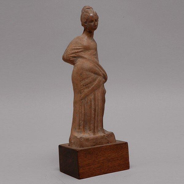 303: Greco-Roman Clay Female Figure