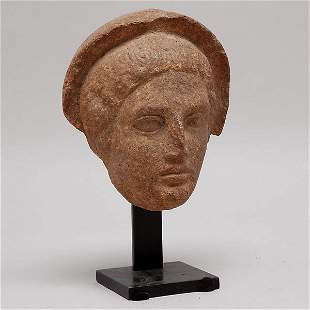Ancient Etruscan Head