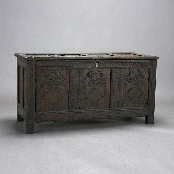 310: Spanish Baroque Coffer