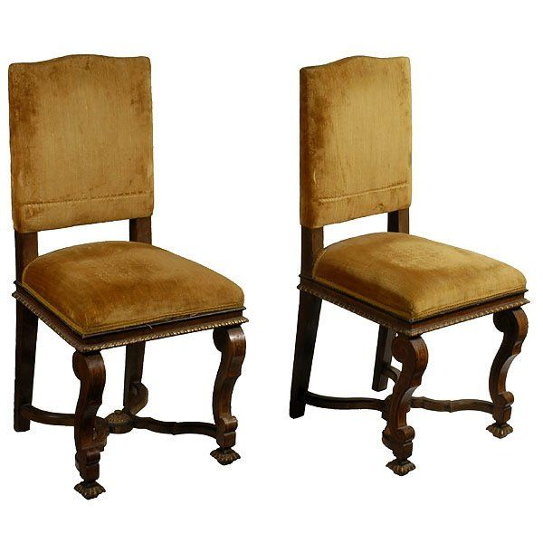 Four Baroque Style Side Chairs