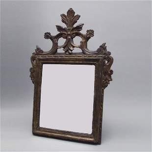 talian Neoclassical Giltwood Mirror, Late 18th Cen