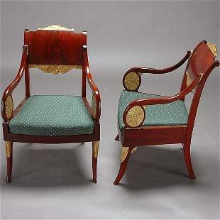 Pair of Russian Armchairs