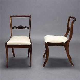 Six Regency Chairs