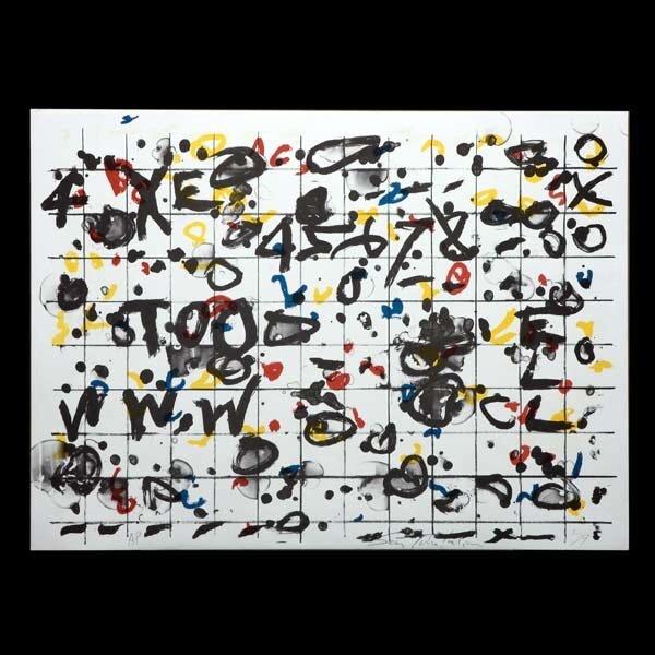 909: 13 ART LITHOS SIGNED/1979 SAM TCHAKALIAN ESTATE
