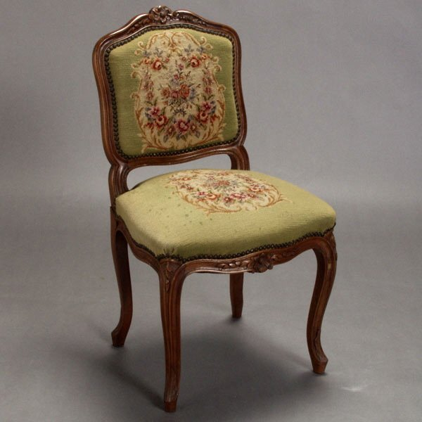 1021: Louis XV Style Side Chair
