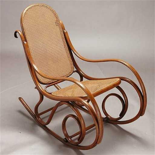 1031 thonet rocking chair