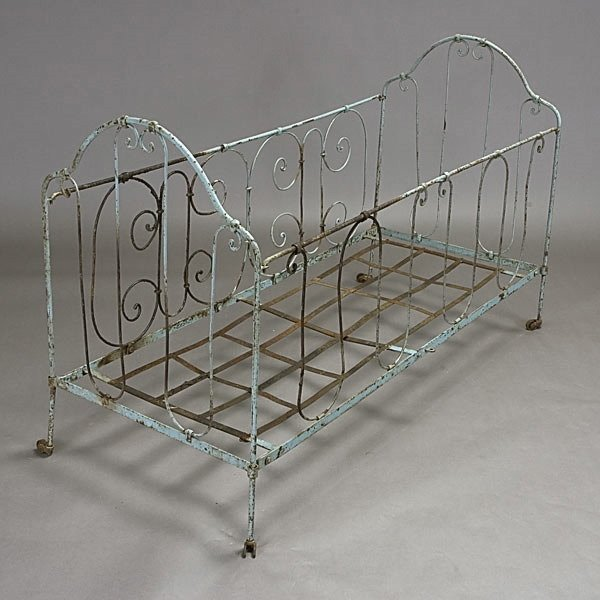 5: Child's Wrought Iron Bed