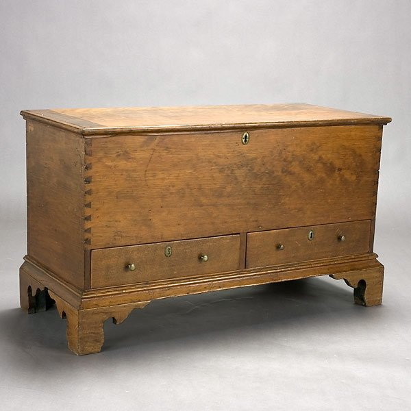 21: American Dower Chest