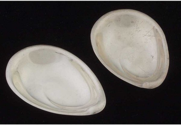 15: Two Reed & Barton sterling nut dishes