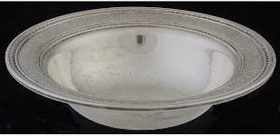 International Silver sterling bowl Wedgw