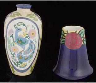 Belgian Boch Frere Earthenware Vase