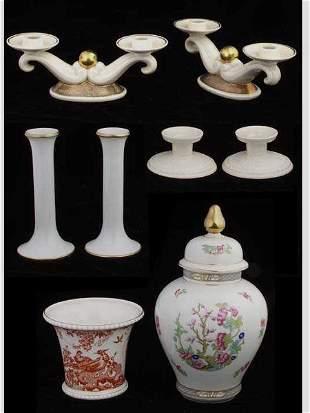 European Porcelain Grouping