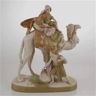Royal Dux Figural Group