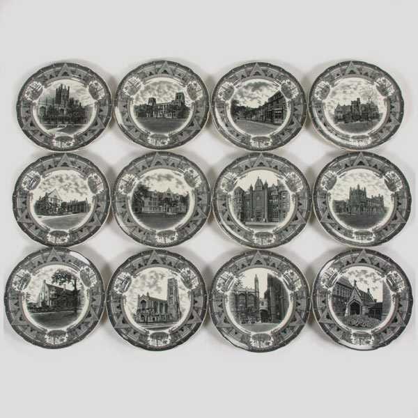 199: Spode Plates/University of Chicago