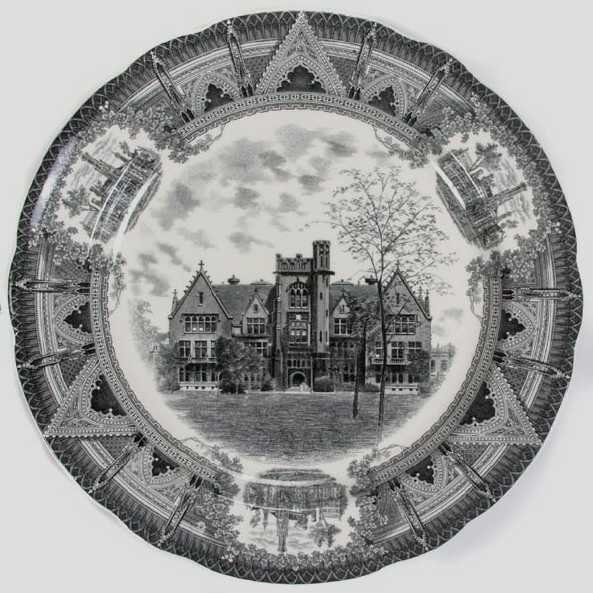 199: Spode Plates/University of Chicago - 2