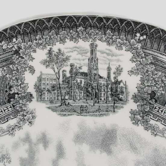 199: Spode Plates/University of Chicago - 3