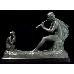 075: Gustave Obiols Delgado Joueur de flute
