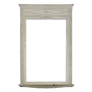 Oversized Victorian Wall Mirror