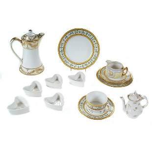 French Limoges Porcelain Group